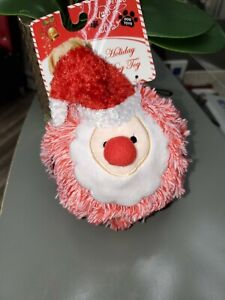 Petlou dog toy Santa Ball.