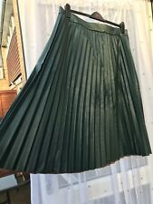 c491d47dd96d Faux Leather Casual Pleated Skirts for Women for sale | eBay