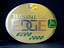 John Deere Melbourne Expo 2000 Belt Buckle The Business Edge Ltd Ed  s/n 001/150