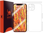 Skinomi Clear Full Body Skin Protector for Apple iPhone 12 [6.1 inch]