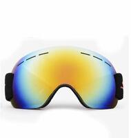 Anti-fog UV Protection Spherical REVO Mirror Lens,Ski Goggles For Men and Women