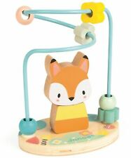 Janod PURE FOX BEAD MAZE Wooden Toy BN