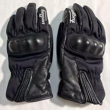 FURYGAN Women's EVA Waterproof Leather Motorcycle Motorbike Gloves Size Large/8