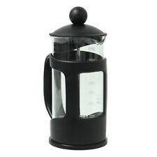 Apollo Black Coffee Plunger 2 Cup 350ml Glass Caffettiera French Filter Press