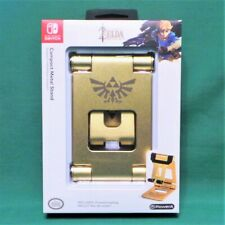 Compact Metal Stand (Nintendo Switch) Gold Zelda Breath Of The Wild PowerA