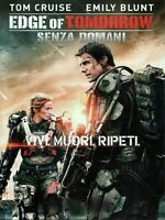 EDGE OF TOMORROW - SENZA DOMANI (2014) Tom Cruise - DVD EX NOLEGGIO WARNER