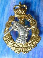 Badge- Royal Army Dental Corps Cap Badge QC Ex Dentibus Ensis badge maker AMMO