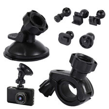 Suction Cup Mount + Mirror Mount, 5 Joint Clips,For Most Dash Cam Mount and GPS