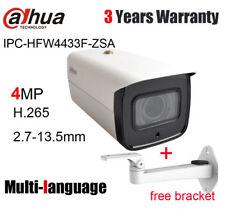 Dahua IPC-HFW4433F-ZSA 4MP IP Camera 2.7mm ~13.5mm Motorized lens POE