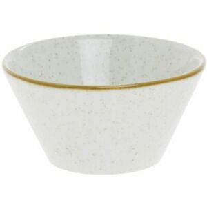 Churchill SWHSZE121 Stonecast Zest Snack Bowl Barley White Pack of 6
