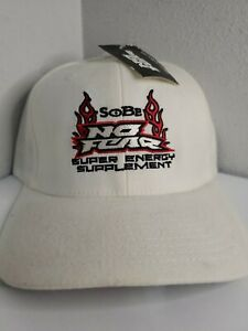 SOBE SoBe No Fear Energy Golf Cap Hat Flexfit NEW