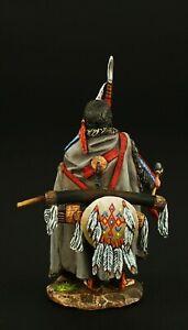 Tin soldier, Collectible, Cheyenne Warrior 54 mm, American Natives