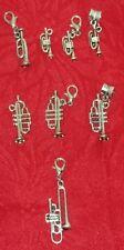 MUSIC INSTRUMENT CHARM - TRUMPET - TROMBONE - MUSIC - BAND - MUSICAL