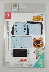Animal Crossing New Horizons Outdoor Pattern Nintendo Licensed Switch Skins New