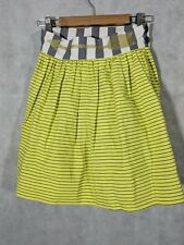 Bernhard Willhelm SS 2012 Golden Glitter Arrow Stripe Skirt Small