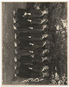 Large 1914-18 Photo of the Cantonville Maryland Girls Basketball Team