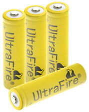 4X 18650 Batteries 4.2V 9800mAh Li-ion Rechargeable Battery &18650 EU UK Charger