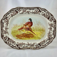 "Spode Woodland Pheasant 19"" Large Platter Never Used"