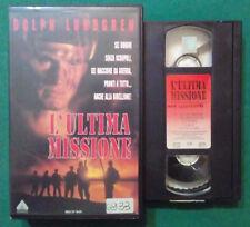 VHS FILM Ita Azione L'ULTIMA MISSIONE dolph lundgren ex nolo no dvd cd lp (V87)