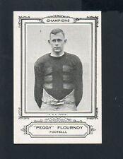 "1926 Spaulding Champions Football Card #1 Charles ""Peggy Flournoy""-Tulane"