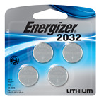 Energizer Batteries CR2032 240 mAh 3V Lithium Coin Cell  - 4-Pack Exp.03/2030