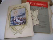 ALMAFUERTE APOSTROPHES 1916 EO HC Illustré IBELS 14-18 EDITH CAVELL ARGENTINE