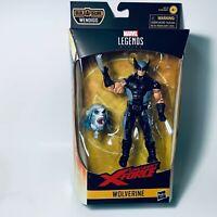 Marvel Legends Uncanny X-Force WOLVERINE 6in Figure BAF Wendigo NEW Opened Box