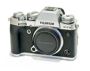 Fujifilm X-T3 Gehäuse, silber body, silver