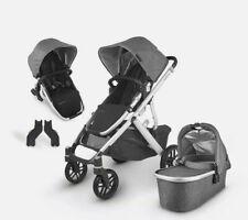 UPPAbaby Vista V2 Jordan Stroller - Charcoal/Silver/Black