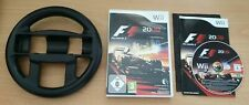 Formula 1 F1 2009 - Includes third party racing wheel - Unboxed - Nintendo Wii