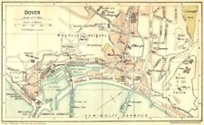 Rochester Cathedral 1924 Old Vintage Map Plan Chart Maps, Atlases & Globes Kent