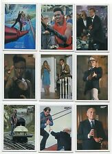 2017 James Bond Archives Final Edition A View To A Kill 30 card throwback set