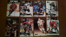 NHL PRO SET 1991 LOT OF 8 ALL-STARS