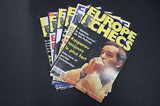 CHESS MAGAZINES Lot of 6 EUROPE ECHECS magazines Dec.-Mai 1996-1997 Francais