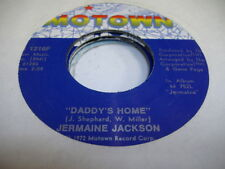 Soul 45 JERMAINE JACKSON Daddy's Home on Motown 7""