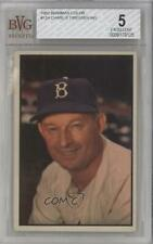 1953 Bowman Color Chuck Dressen #124 BVG 5