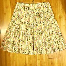 "Hanna & Gracie Peasant Boho No-Iron Skirt Size PS 100% Cotton Lined Waist 28"""