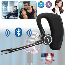 Business Bluetooth Headset Handsfree Earpiece for Apple iPhone SE 4 4S 5 5S 6 6S
