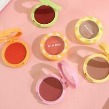 Matte Blush Lipstick Cream Eyeshadow Wang Rouge Face Waterproof Lipstick L5Q7