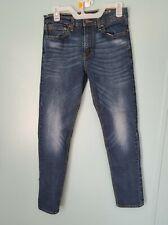 Mens Denizen Levis Jeans 29x32 Slim Taper Fit 286 Dark Wash