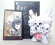 Kidrobot Arcane Divination Dunny Blind Box Series  Death White Tokyo Jesus