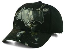 Batman Youth Sublimated Action Cap Black 20900802 DC Comics Hats