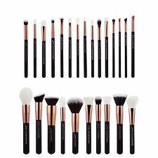 25Pcs Jessup Powder Blusher Foundation Kabuki Makeup Brushes Set Kit Rose Gold