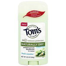 Toms of Maine Antiperspirant Deodorant for Women, Fresh Meadow 2.25 oz