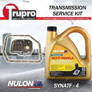 SYNATF Transmission Oil + Filter Service Kit for Toyota Corolla ZZE122R ZRE152R