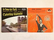 LOT DISQUES 45T SPECIAL CATERINA VALENTE