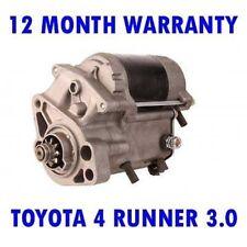 Toyota 4 Runner 3.0 1990 1991 1992 1993 1994 1995 Motor de Arranque Rmfd