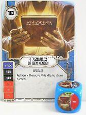 Star Wars Destiny - 1x #041 Journals of Ben Kenobi + dice-B-Spirit of rebelde