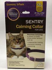 Sentry Calming Collar Cat Good Behavior Pheromone 3 Pack