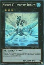 *** NUMBER 17: LEVIATHAN DRAGON *** GHOST RARE 1ST EDITION GENF-EN039 YUGIOH!
